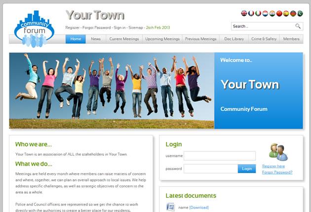 Community Forum Homepage