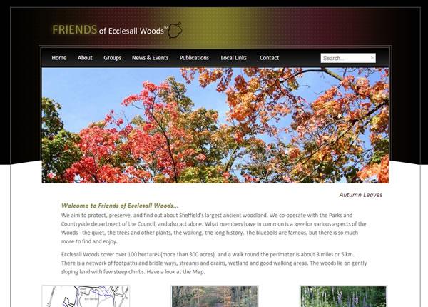 Homepage Friends of Ecclesall Woods