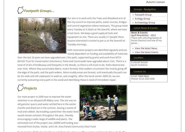 Walks - Friends of Ecclesall Woods