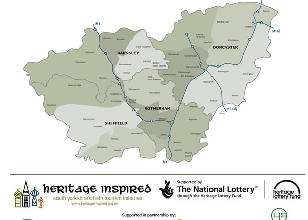 Heritage Inspired Interactive Map