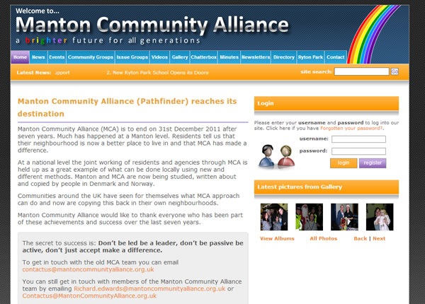 Manton Community Alliance Homepage